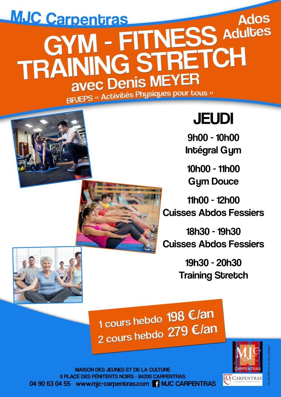 Fitness MJC Denis